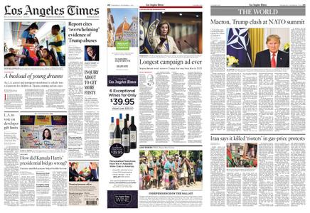 Los Angeles Times – December 04, 2019