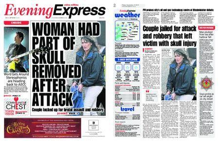 Evening Express – September 15, 2017