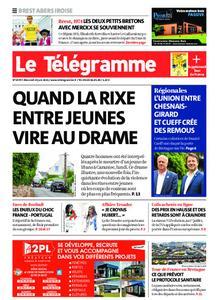 Le Télégramme Brest Abers Iroise – 23 juin 2021