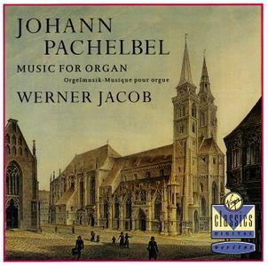 Werner Jacob - Johann Pachelbel: Music for organ (1993)
