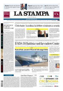 La Stampa Torino Provincia e Canavese - 18 Settembre 2020