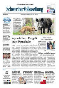 Schweriner Volkszeitung Hagenower Kreisblatt - 05. Dezember 2017