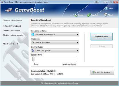 PGWare GameBoost 3.9.16.2019 Multilingual