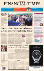 Financial Times Europe – 19 February 2019
