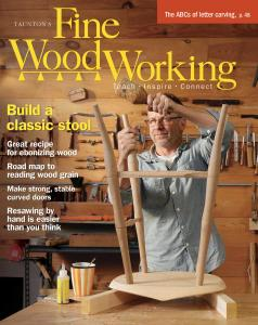 Fine Woodworking - May-June 2019