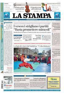 La Stampa Torino Provincia e Canavese - 14 Gennaio 2018