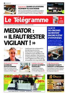 Le Télégramme Brest – 30 mars 2021