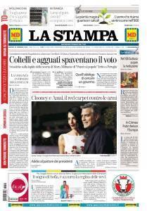 La Stampa Torino Provincia e Canavese - 22 Febbraio 2018