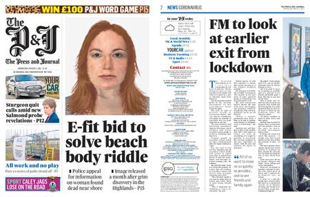 The Press and Journal Moray – March 03, 2021