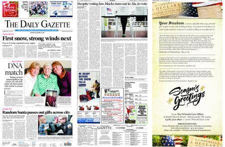 The Daily Gazette – December 25, 2017