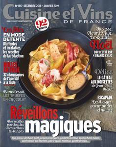 Cuisine et Vins de France - décembre 2018