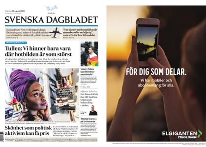 Svenska Dagbladet – 26 augusti 2019