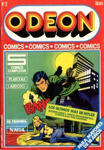 Odeon 2 (de 86) Playcolt / Lardoso / El Trompa / Naga / Los Últimos Días De Hitler