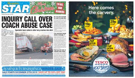 Shropshire Star Shrewsbury Edition – December 24, 2019