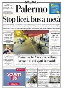 la Repubblica Palermo - 24 Ottobre 2020
