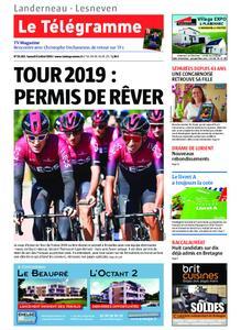 Le Télégramme Landerneau - Lesneven – 06 juillet 2019