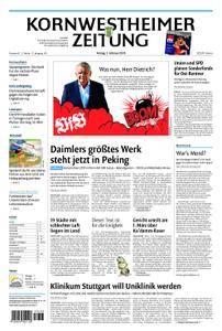 Kornwestheimer Zeitung - 02. Februar 2018