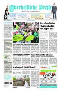 Oberhessische Presse Marburg/Ostkreis - 20. September 2017