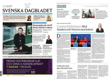 Svenska Dagbladet – 02 augusti 2019
