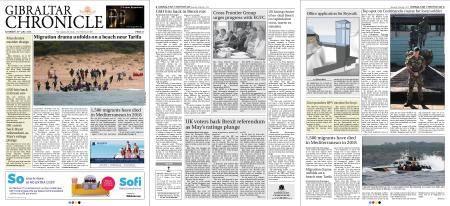 Gibraltar Chronicle – 28 July 2018