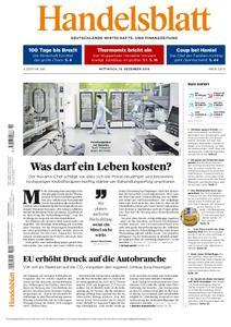 Handelsblatt - 19. Dezember 2018