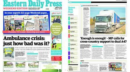 Eastern Daily Press – February 03, 2018