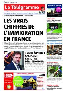 Le Télégramme Concarneau – 07 octobre 2019