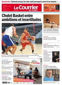 Le Courrier de l'Ouest Cholet – 25 septembre 2020