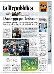 la Repubblica - 18 Marzo 2019