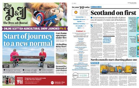 The Press and Journal Moray – May 29, 2020