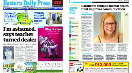 Eastern Daily Press – March 19, 2019