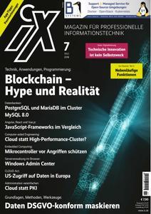 iX Magazin - Juli 2018