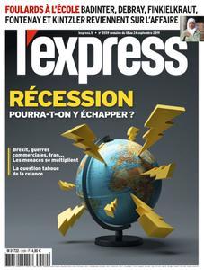 L'Express - 18 septembre 2019