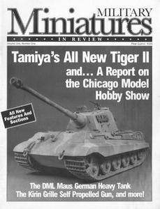 Military Miniatures in Review Vol.1 No.1
