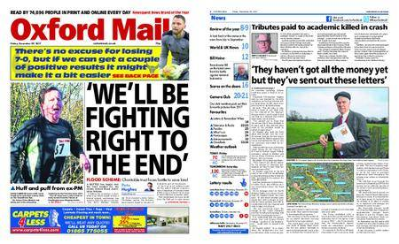 Oxford Mail – December 29, 2017