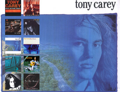 Tony Carey: CD Collection (1982 - 2009) Re-up