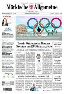 Märkische Allgemeine Fläming Echo - 06. Februar 2018