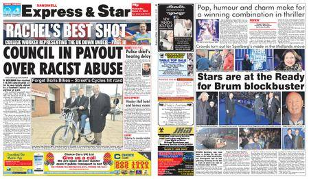 Express and Star Sandwell Edition – March 21, 2018