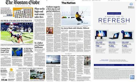 The Boston Globe – January 14, 2019