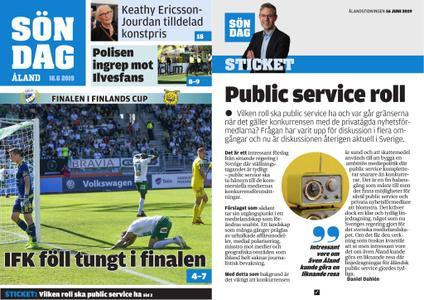 Ålandstidningen – 16 juni 2019