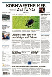Kornwestheimer Zeitung - 25. Mai 2018