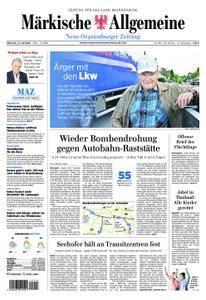 Neue Oranienburger Zeitung - 11. Juli 2018