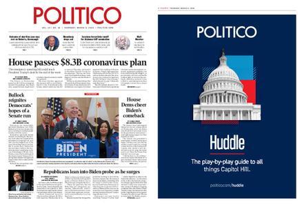 Politico – March 05, 2020