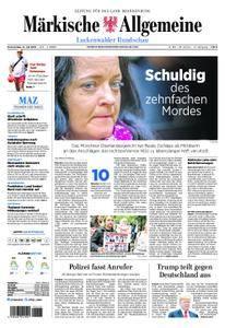 Märkische Allgemeine Luckenwalder Rundschau - 12. Juli 2018