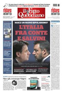 Il Fatto Quotidiano - 10 agosto 2019