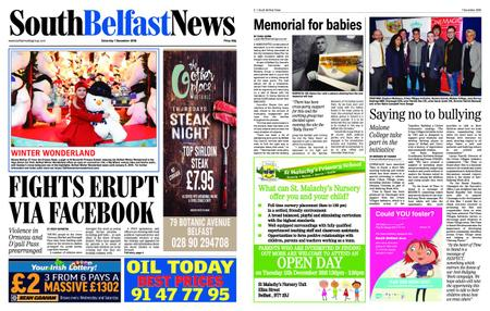 South Belfast News – December 03, 2018