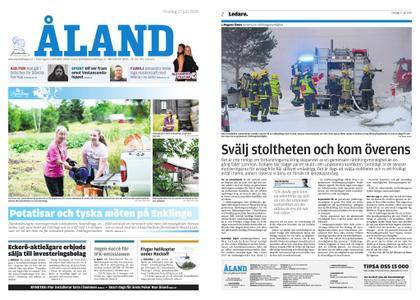 Ålandstidningen – 17 juli 2019