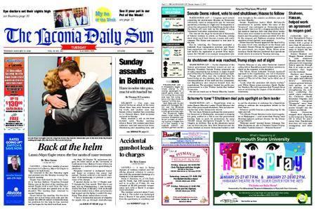 The Laconia Daily Sun – January 23, 2018
