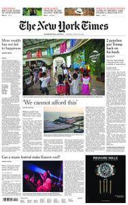International New York Times - 23 August 2018