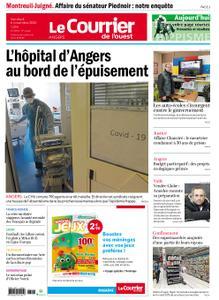 Le Courrier de l'Ouest Angers – 06 novembre 2020